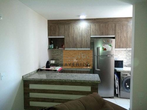 Imagem 1 de 11 de Apartamento Com 2 Dormitórios À Venda, 45 M² Por R$ 233.000 - João Aranha - Paulínia/sp - Ap0556