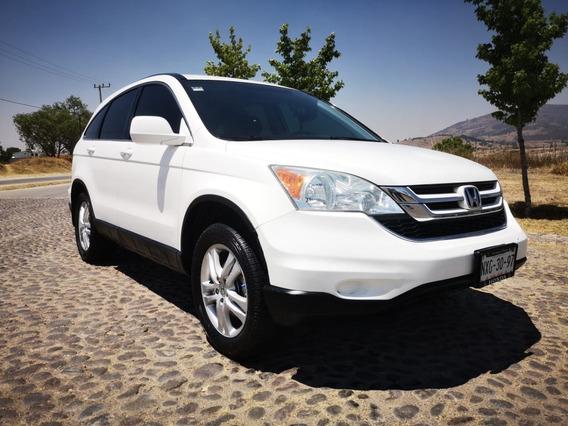 Honda Cr-v Ex, Automatica, Mod. 2010, Color Blanco, Preciosa