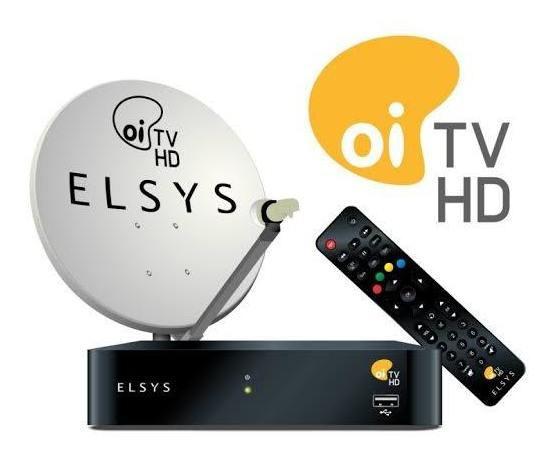 Kit Oi Tv Livre Antena Mais Receptor Hd