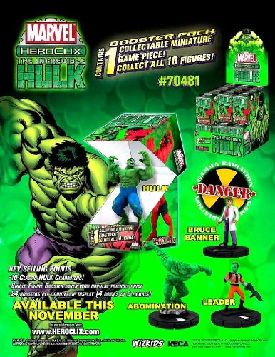 Marvel Heroclix The Incredible Hulk Counter Display Superior