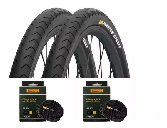 Par Pneu Bike 700x32 Pirelli Phantom Serve Aro 29 + 2 Camara
