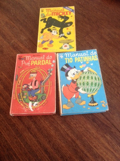Manual Do Professor Pardal, Tio Patinhas E Mickey