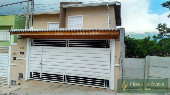 Sobrado 2 Suites Jardim Jaragu, Atibaia - R$ 390.000,00, 90m² - V418