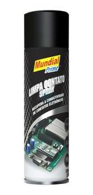 Limpa Contato Spray Eletrônico 300ml Mundial Prime C/12 Unid