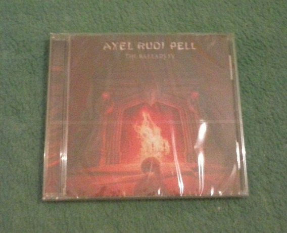 Cd Axel Rudi Pell-the Ballads Iv.yngwie.steeler.rob.edguy