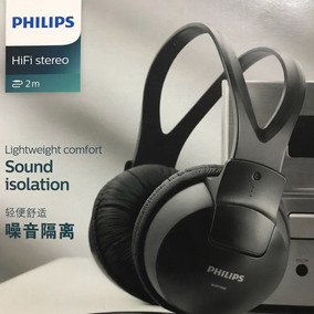 Headphone Philips Hifi Stereo Sound Isolation Sph1900