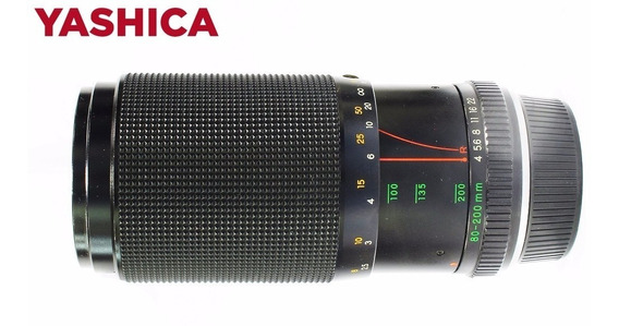 Yashica Zoom 80-200mm F/4 Made In Japan | Nota 10!!!!!
