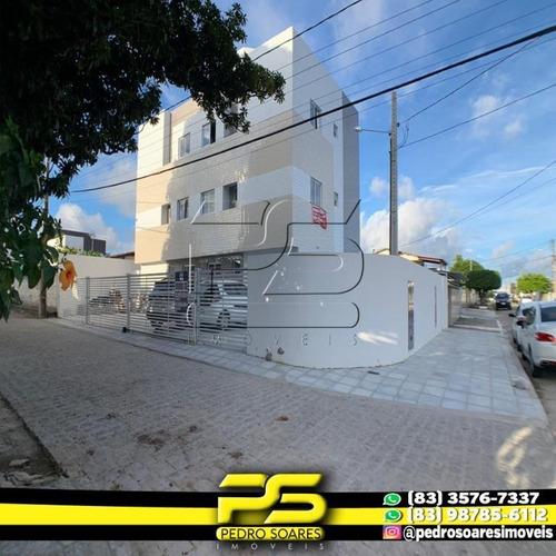 Apartamento Com 2 Dormitórios À Venda, 48 M² Por R$ 135.000 - Ernesto Geisel - João Pessoa/pb - Ap2889