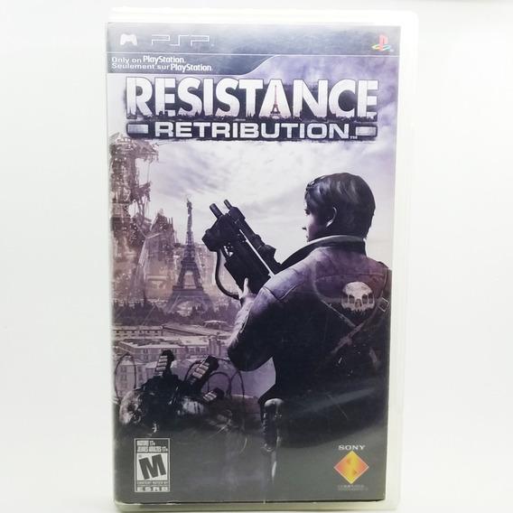 Resistance Retribution Psp Midia Fisica *usado*