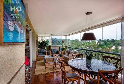 Imagem 1 de 27 de Apartamento Com 3 Dormitórios À Venda, 300 M² - Real Parque - São Paulo/sp - Ap2465