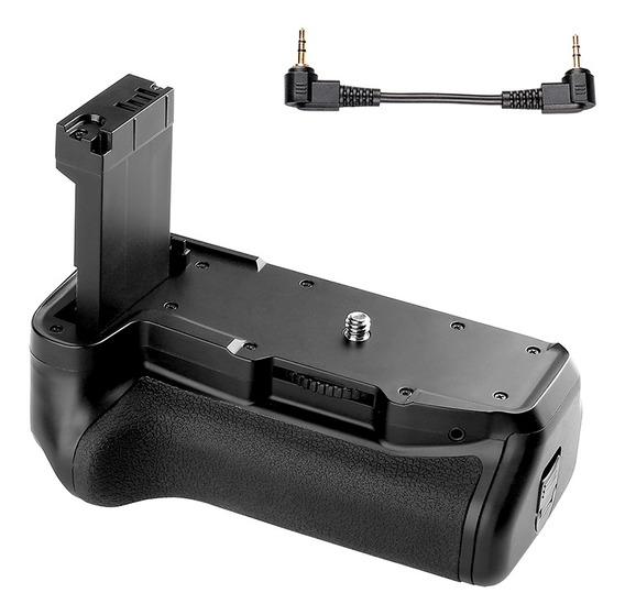 Titular Vertical Aperto Bateria Para Cânone Eos 800d / Rebel