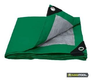 Lona De Polietileno Color Verde 4m X 6m