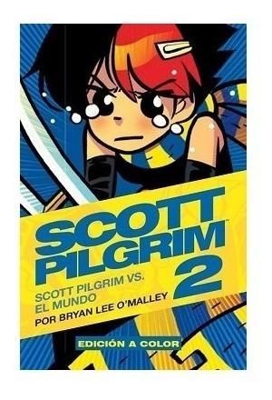 Comic Scott Pilgrim Tomo 2 Deluxe Kamite Nuevo Sellado