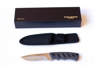 Cuchillo Táctico Explorer Mod 048a 16,5 Cm - Hay Kabar Muela