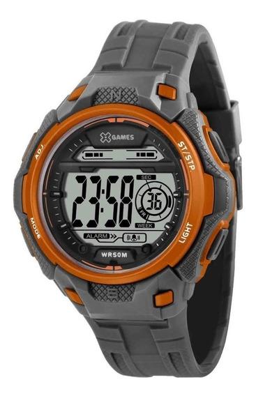 Relógio X-games Xmppd571 Digital Masculino Pulseira Cinza