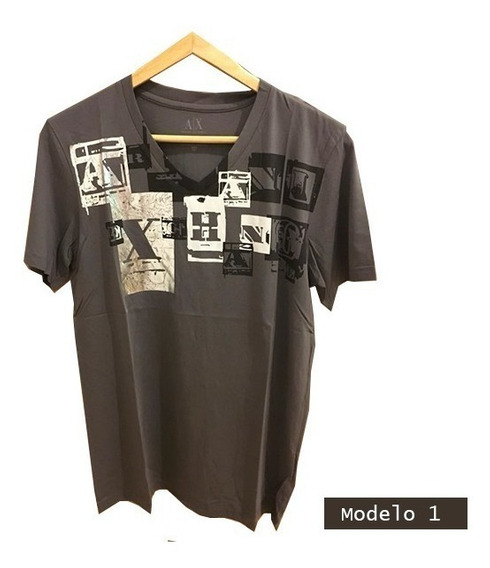 Remeras Armani Exchange Original Hombre S M L Xl