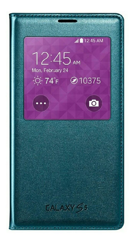 Samsung Galaxy S5 Case S View Flip Cover Original