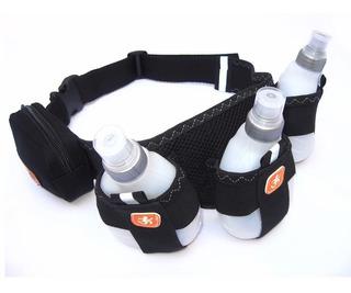 Cinturon De Hidratación 3 Botellas (talle Universal)