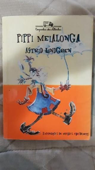 Píppi Meialonga De Astrid Lindgren Livro