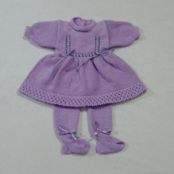 Maternidade Rn Vestido Calças Bebê Menina Fitinhas Ref. 126