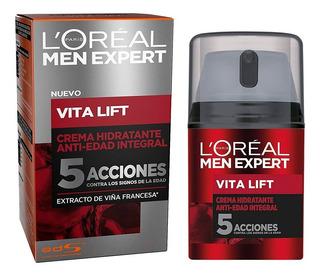 Crema Hidratante Anti Arrugas Anti-edad Para Hombre