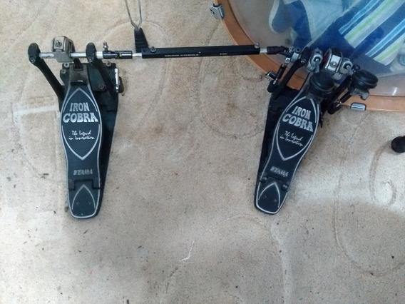 Pedal Duplo Tama Iron Cobra P900 + Case E Frete Grátis