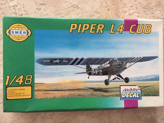 Piper L-4 Cub. Esc 1/48. Smer (faz Fab)