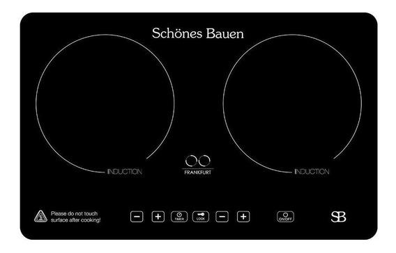 Parrilla eléctrica Schönes Bauen Frankfurt negro 110V