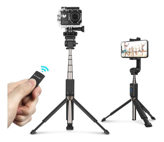 Blitzwolf Sem Fio Bluetooth Selfie Vara Tripé Mini Monopé