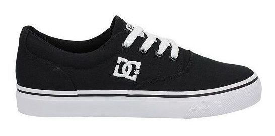 Tênis Dc Shoes New Flash 2 Preto Tx Black White