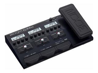 Pedalera Multiefectos Zoom G3xn Para Guitarra Electrica G3x