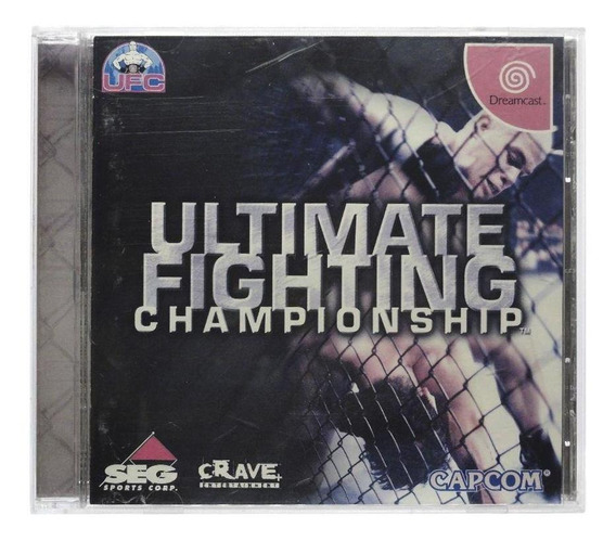 Ultimate Fighting Championship Dreamcast Japonês Física