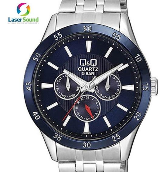 Relógio Q&q By Japan Masculino Ce02j422y C/ Garantia E Nf