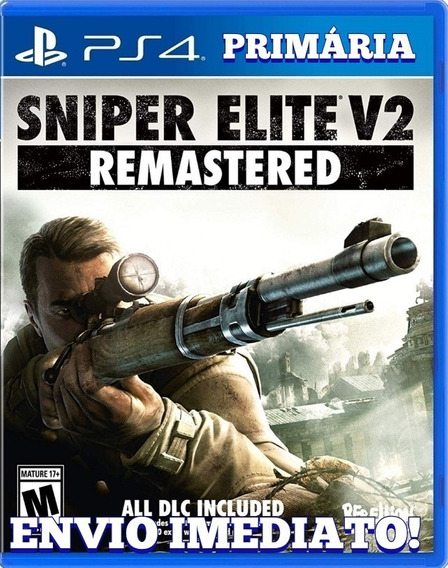 Sniper Elite V2 Remastered Ps4 | Envio Agora