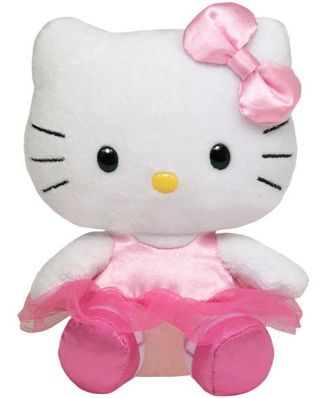 Pelúcia Hello Kitty Bailarina Beanie Babies- Dtc Ty Original