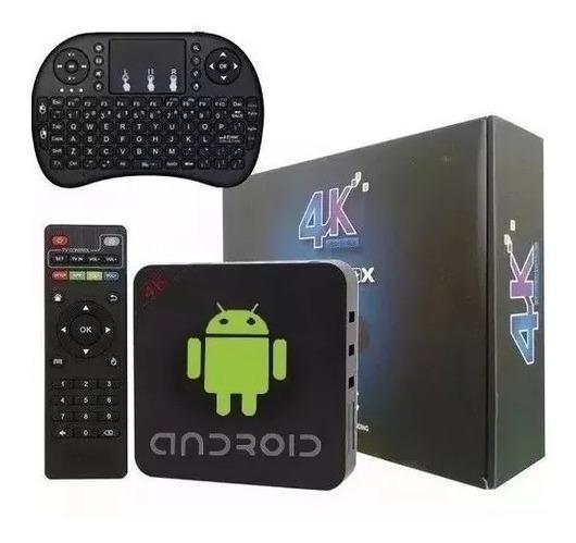 Aparelho Mini Pc Box 3gb Android 8.1 Transforme Agora Sua Tv