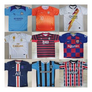 Kit Com 10 Camisetas De Time Camisas De Futebol Raynstore®