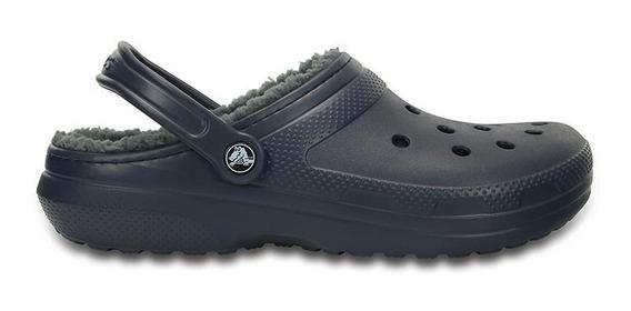 Crocs Originales Corderito Classic Lined Navy Charcoal