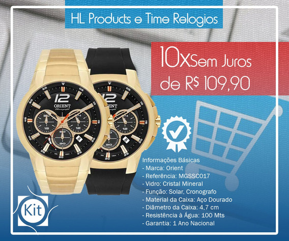 Relógio Orient Solar 10atm Mgssc017