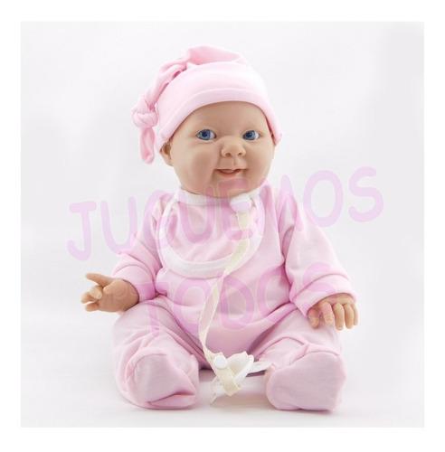Imagen 1 de 10 de Bebé Bebota Real Gordita Con Chupete Pícara Nena