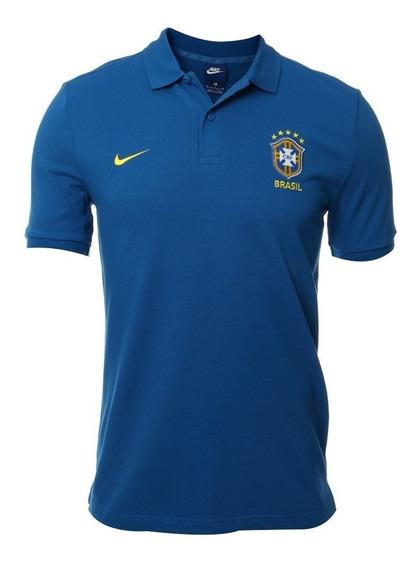 Playera Polo Oficial Nike Brasil 2018 Original Envío Gratis