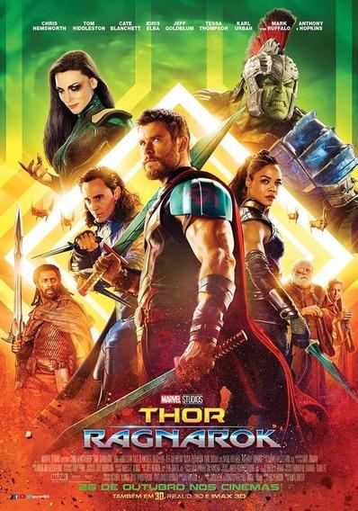 Filme Thor Ragnarok E Aquaman