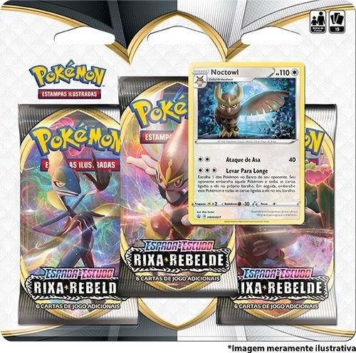 Triple Pack Pokémon Espada E Escudo 2 Rixa Rebelde