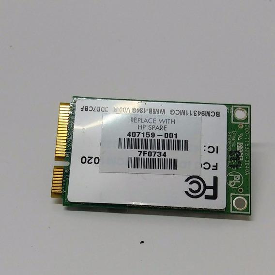 Placa Wifi Notebook Hp - Cód: Bcm94311mcg - Com Garantia!
