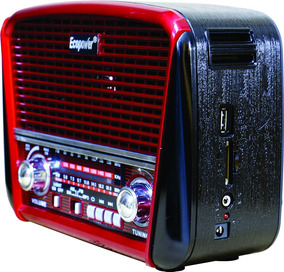 Rádio Portátil Bluetooth Ecopower Ep-f93b Am/fm/sw Usb/sd/tf