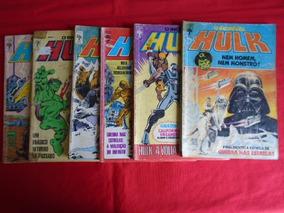 O Incrível Hulk - Nºs 24, 25, 28, 31, 36, 37 / Frete: 10,00