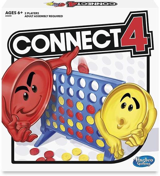 Juego Conector De 4 De Hasbro, Talla Única , Multicolor