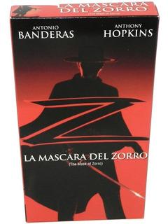 Película Vhs La Mascara Del Zorro Como Nueva