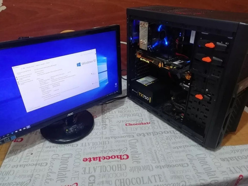 Pc Gamer (8gbram/radeon R9/amd Fx-6300) + Parlantes Gratis