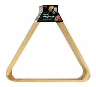 Viper Wood Triangle Billiard Rack- Triángulo Para Billar